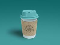 Coffee Cup Branding Mockup [Scene 1]
