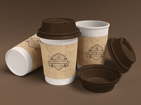 Coffee Cup Branding Mockup [Scene 2]