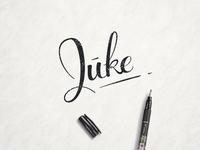 Juke Handlettering