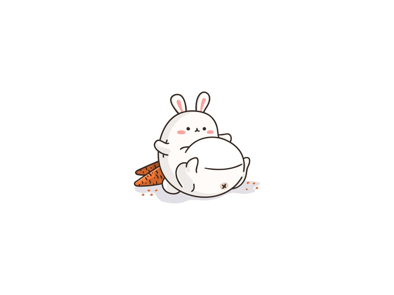 Fat Bunny By Stefan Mihaylov On Dribbble
