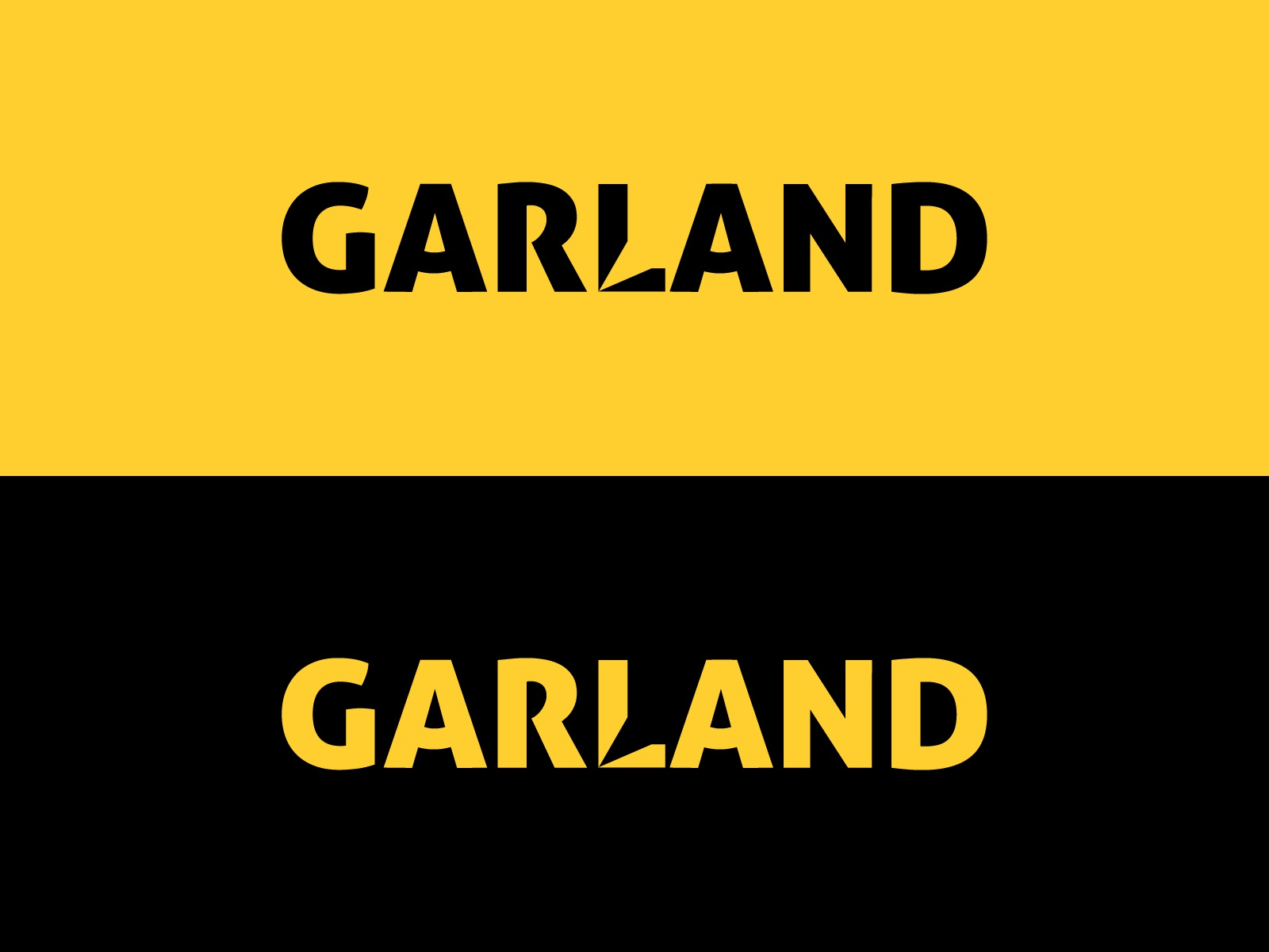 Logotype for GARLAND
