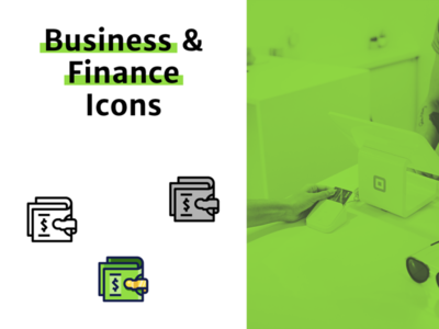 Business & Finance Icon Pack creative creative market iconfinder online payment shopping illustration illustrator pixelart pixel money icon set icons pack vector art vector finance business iconpack iconset icons