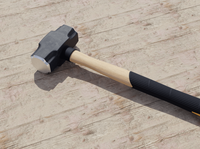 Photorealistic 3D Sledge Hammer Model