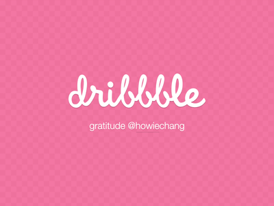 Dribbble First Shot first shot dribbble invitation gratitude