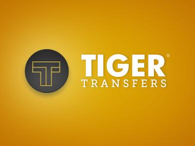 Tiger Transfers - 1st option logo event logo identity branding