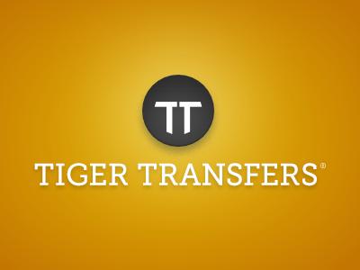 Tiger Transfers - 2nd option logo event logo identity branding