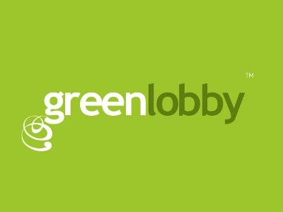 Green Lobby identity branding logo