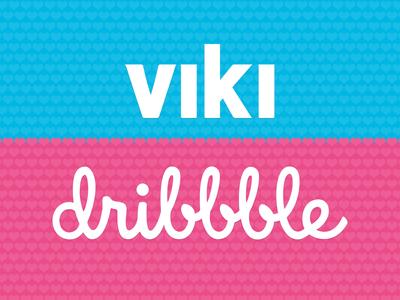 Viki loves Dribbble viki love dribbble debut