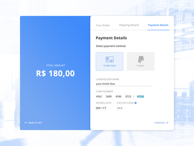 Daily UI #002 - Checkout Page