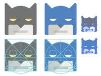 Google Style Batman Icon batman icon comics google superhero awesome