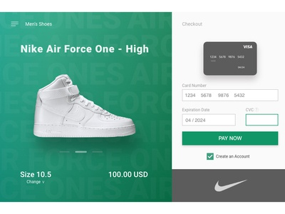 UI Challenge #2 - Credit Card Checkout