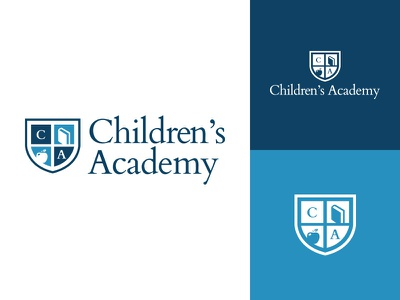 Children's Academy brand identity logo