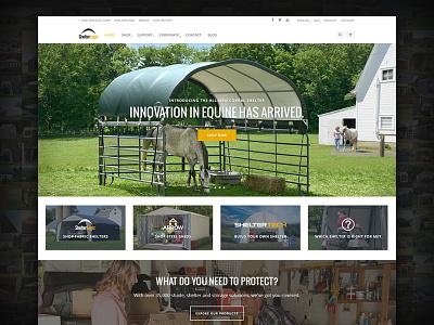 ShelterLogic.com Banded Layout