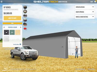 Farmbuildings.com user interface rwd