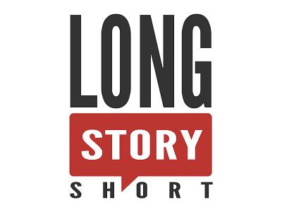 Long Story Short logo branding