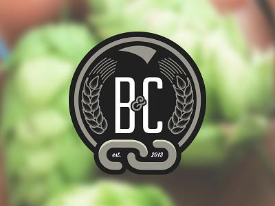 Ball & Chain Brewing Company logo branding