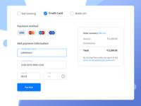 Credit Card Chekout