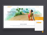 Padmakrishna Digital paintings