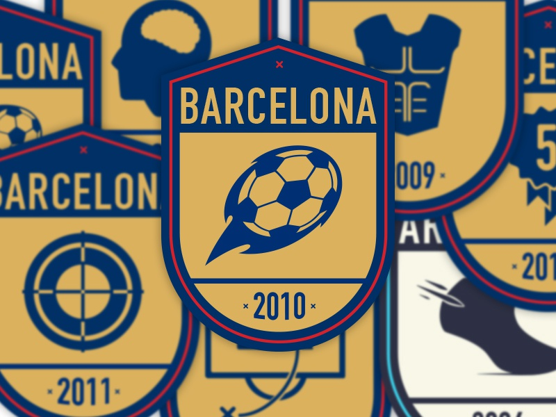 Icons / Badges messi book icons badges football soccer argentina barcelona
