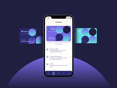 Kapital Mobile App argentina ux ui finance mobile app paraguay fintech bank kapital design indicius
