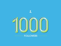1000 Followers