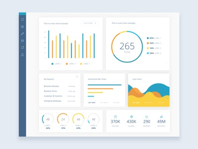 Style Tile graphics governance data metrics dag metacenter metadata dashboard style tile