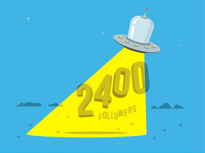 2400followers