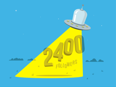 2400 Followers