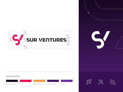 Sur Ventures - Branding brand traits brand statement branding logo infrastructure sur ventures space argentina design indicius