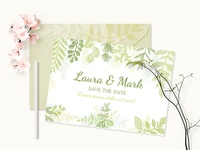 Vector Leaves Branches & Herbs Fresh Doodle collection