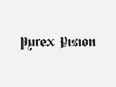 Pyrex Vision re-master