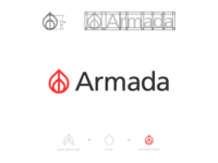 Armada exploration logo design
