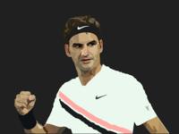 Roger Federer Illustration
