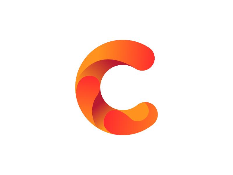 Letter C logo. Alphabet logotype vector design by Akhmad ...