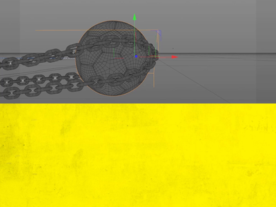 ball making of effects aftereffects after simulation hair ball chain chains makingof dynamic football cinema4d 3d motiongraphics motion graphics motion design 3d animation 2d animation motion