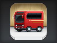 iOS App Icon Design: Busboy
