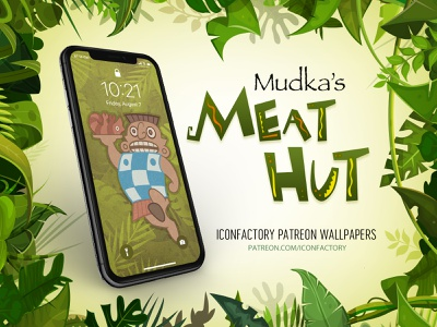 Mudka's Meat Hut Wallpaper patreon macos ios desktop yzma kuzco emperors new groove iconfactory wallpaper movies animated
