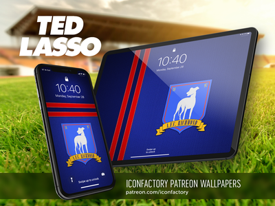 Ted Lasso - Richmond Wallpaper homescreen lockscreen wallpaper patreon iconfactory ipad iphone football soccer sports television tv