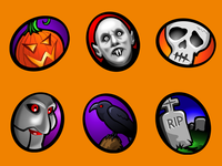 Iconfactory Macabre Stickers