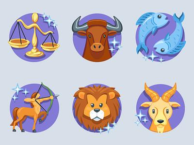 Astrology Emoji constellations stars animals icon emoji zodiac astrology iconfactory