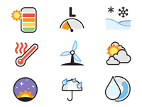Dark Sky Icons for iOS