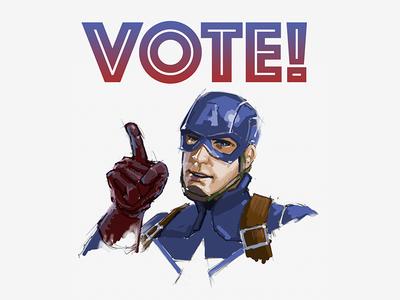 Cap Says VOTE!