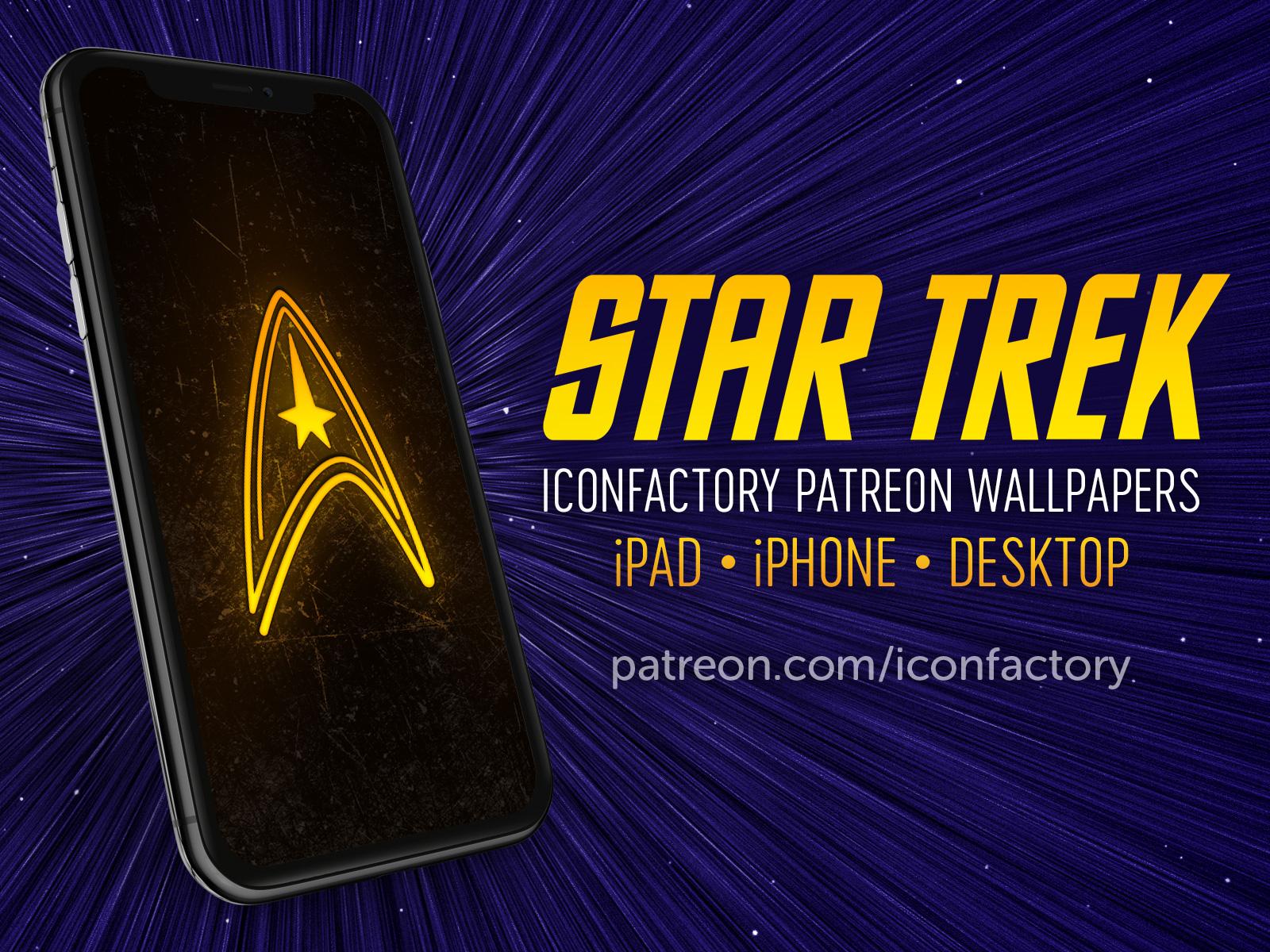 Star Trek Wallpaper By Iconfactory On Dribbble