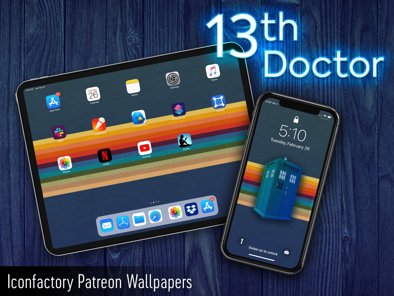 13th Doctor Wallpaper By Iconfactory On Dribbble