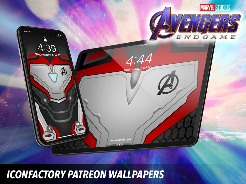 Avengers Endgame Wallpaper By Iconfactory On Dribbble