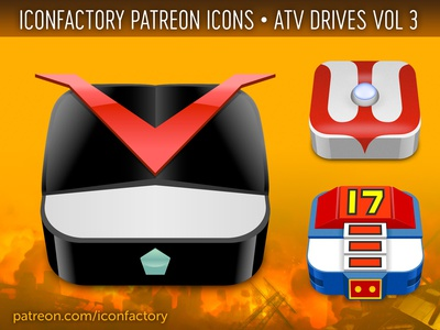 ATV Drive Vol 3 Icons