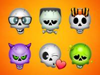 Iconfactory Skullmoji Stickers