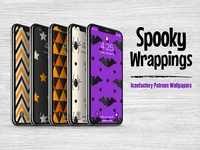 Spooky Wrappings Wallpapers