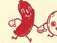 Sausage + Pancake