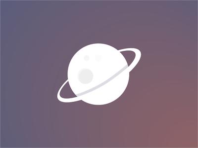 """Created"" - planet logo"